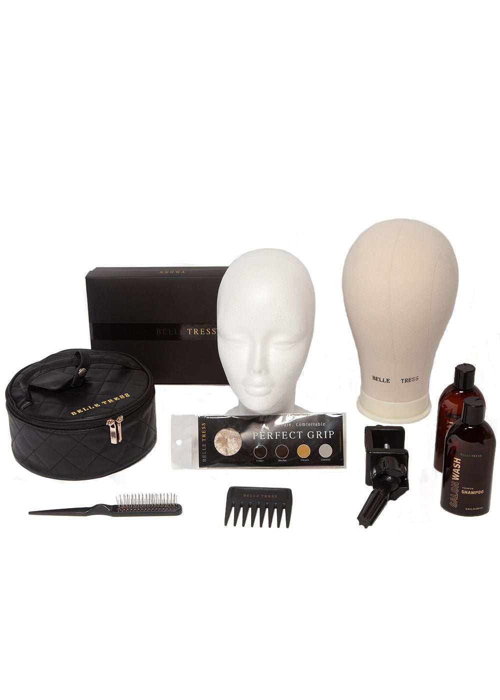Deluxe Essential Care Kit for Synthetic Hair by Belle Tress