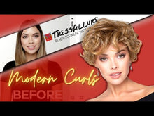 Load and play video in Gallery viewer, Modern Curls: Style-Able Effortless Fiber - by TressAllure