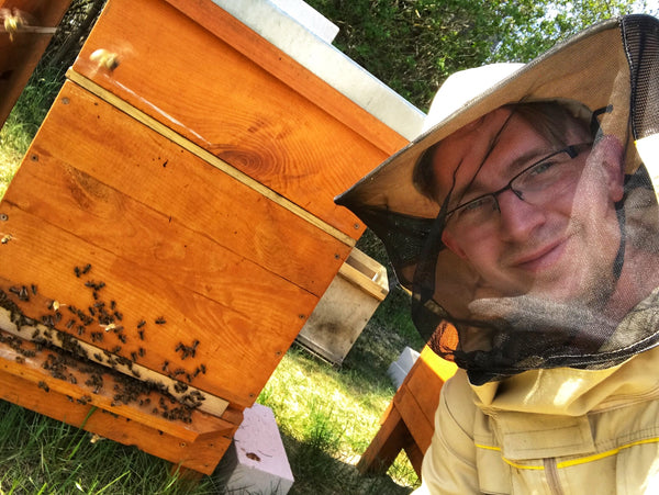 Paul the Beekeeper of Bee Baltic