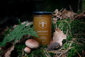 Raw Forest Honey in UK by Bee Baltic
