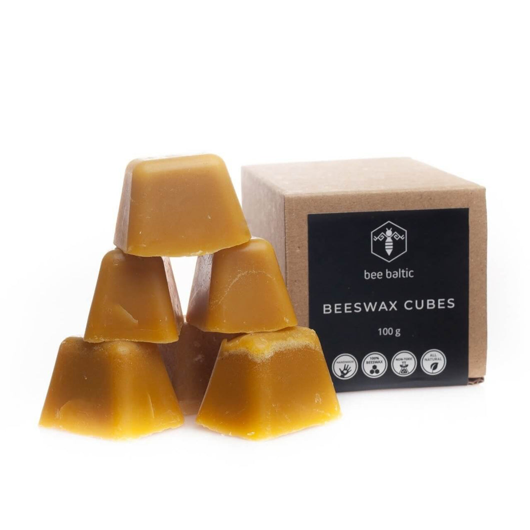 Beeswax Cubes by Bee Baltic