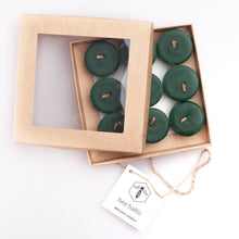 Load image into Gallery viewer, Green Beeswax Tea Lights by Bee Baltic