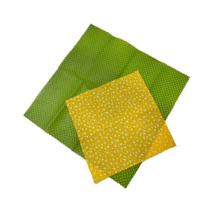 Beeswax Wraps Set of 2 Top by Bee Baltic