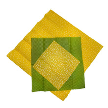 Load image into Gallery viewer, Beeswax Wraps Set of 3 Top by Bee Baltic