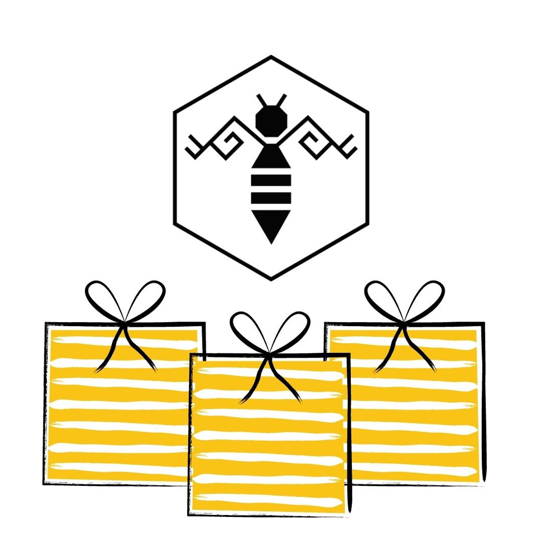 Raw Honey and Beeswax Candles Gift Card by Bee Baltic