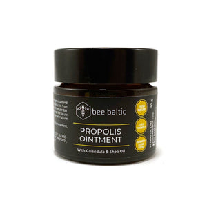 Propolis ointment with calendula and shea oil by Bee Baltic