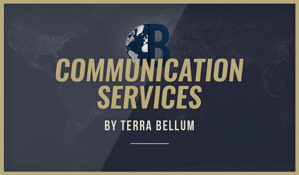 <center> TERRA BELLUM COMMUNICATION SERVICES </center>