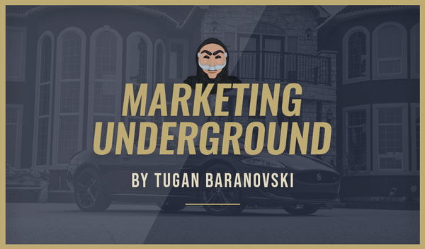 <center> MARKETING UNDERGROUND BY TUGAN </center>