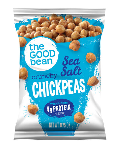 Sea Salt Crunchy Chickpeas 0.75oz 50pk