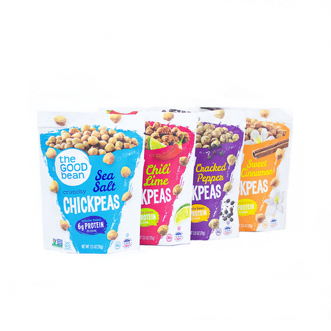 Mixed Case Crunchy Chickpeas 2.5oz 12pk