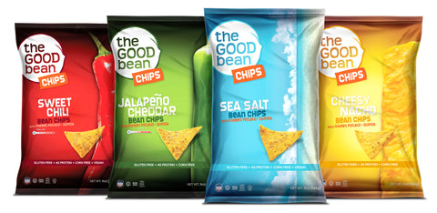 All Flavors of Our New Bean Chips 5pk