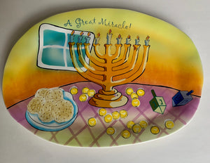 Hanukkah Dish (close out)