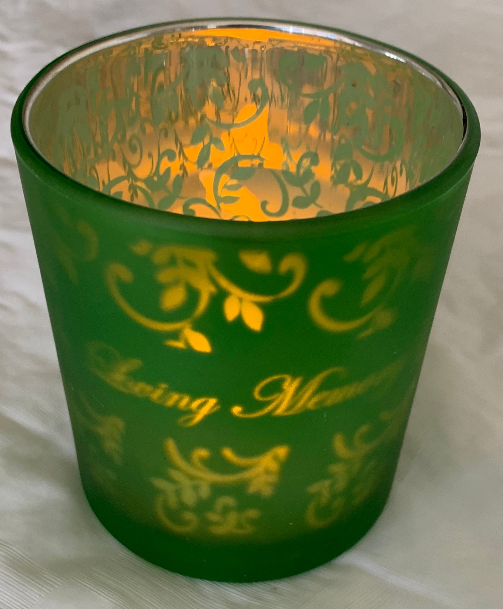 Yahrzeit Candle with Battery-Choice of colors