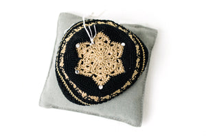 Kippah Knit Star of David