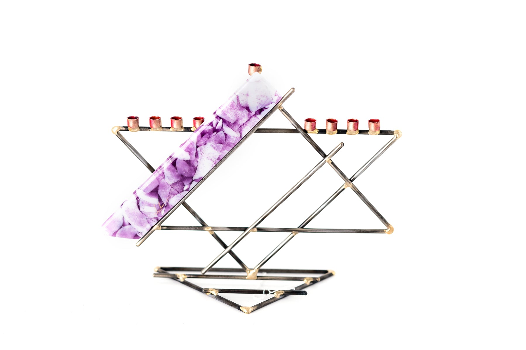 Gary Rosenthal Presidential Menorah for Nonprofit Pancreatic Cancer Support