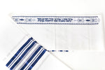 Load image into Gallery viewer, Tallit- Blue/Silver traditional