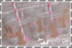 Pink and Gold Birthday Party Supplies-1st Birthday