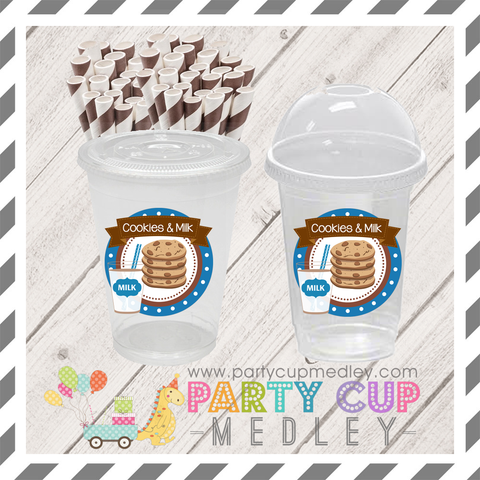 Cookies and Milk Birthday Party Supplies