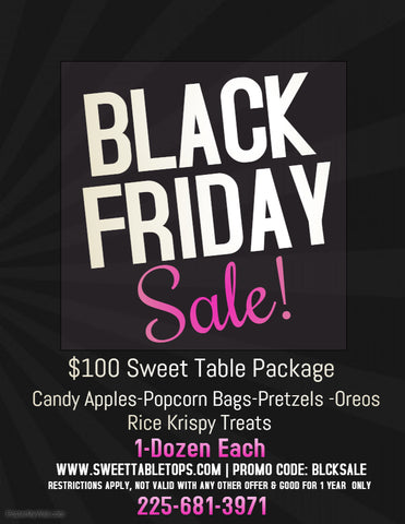 Black Friday-Sweet Package-$100