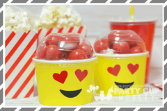 Emoji Birthday Party Favor Package
