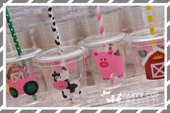 Girl Farm Birthday Party Supplies