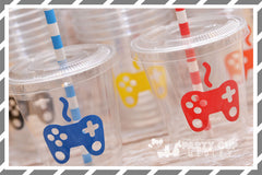 Video Gamer Birthday Party Cups