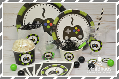 Video Gamer Birthday Party Package-133 Pieces