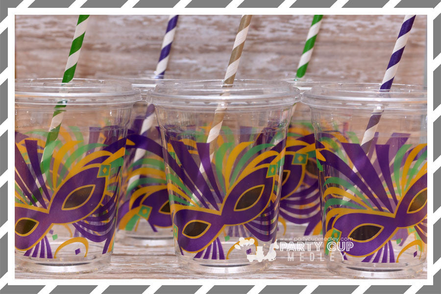Mardi Gras Party Cups