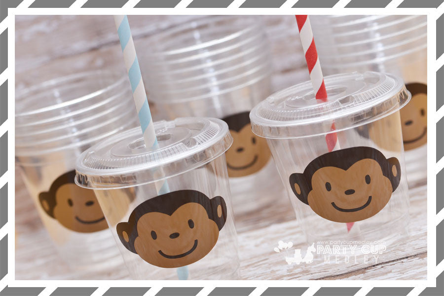 Mod Monkey Birthday Party Supplies