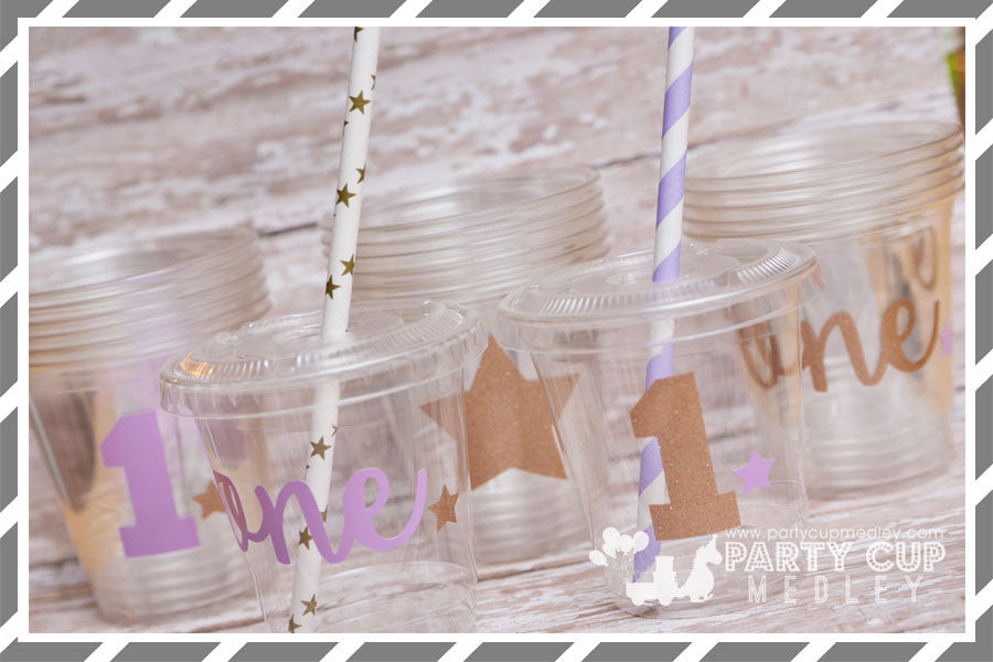 Twinkle Twinkle Little Star Birthday Party Supplies-Lavender