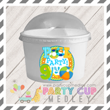 Pool Party Birthday Party Cups