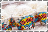 Super Hero Pop Art Party Supplies