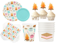 Glamping Camp Party Package-8 Guest