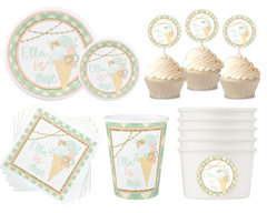 Ice Cream Party Package-8 Guest