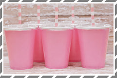 Pink Birthday Party Supplies