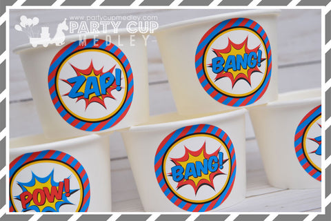 Super Hero Birthday Party Supplies