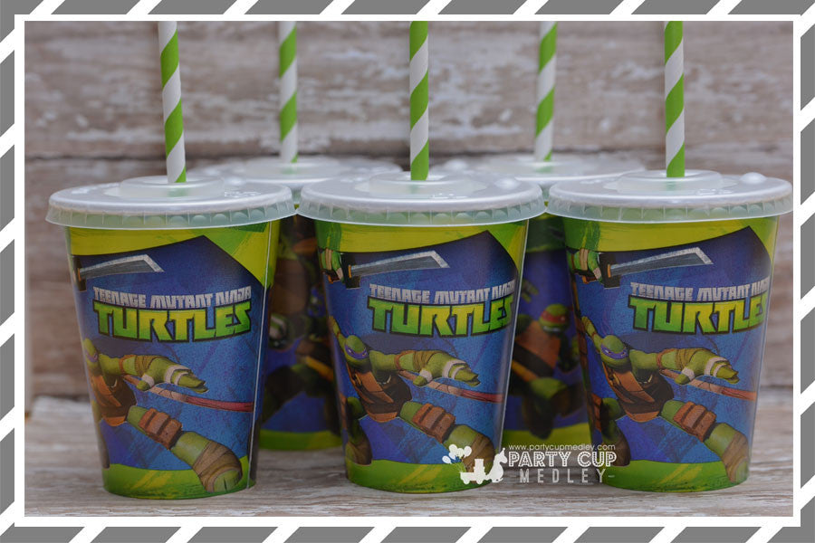Teenage Mutant Ninja Turtles Birthday Party Supplies
