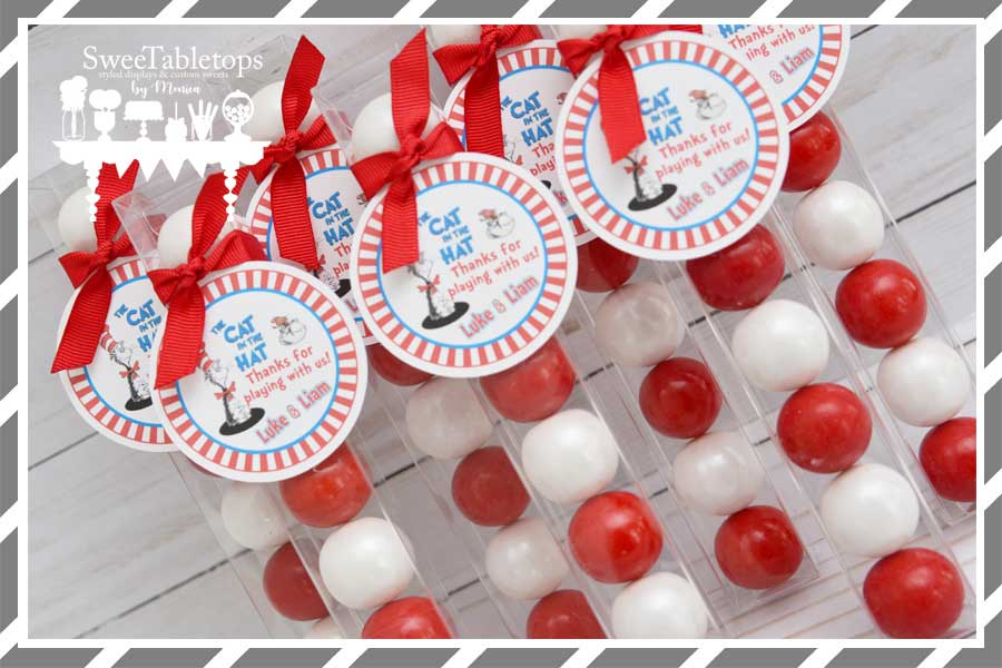 Cat In The Hat Birthday Party Supplies Cup Medley