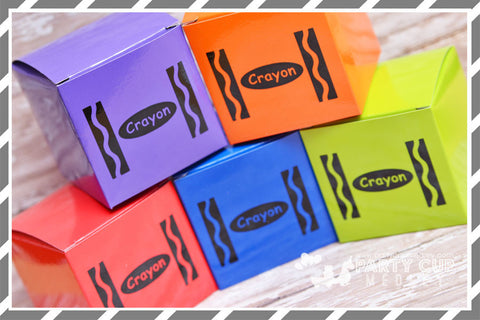 Crayon  Birthday Party Supplies