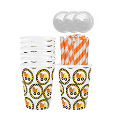 Construction Birthday Party Cups