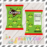 Grinch Movie Party Chip Bag