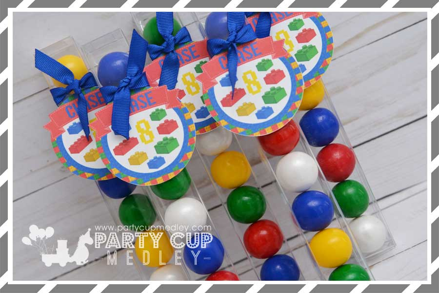Building Blocks Birthday Party Supplies