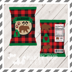 Lumberjack Party Chip Bag