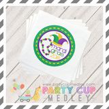 Mardi Gras Party Plates Napkins