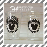 Mickey Mouse Clubhouse Birthday Party Cups
