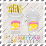 Pink Lemonade Party Cups