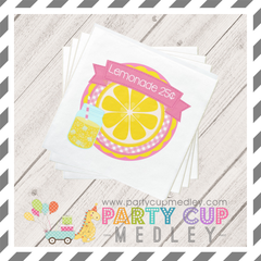 Lemonade Party Napkins Plates