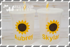 Sunflower Birthday Party Supplies