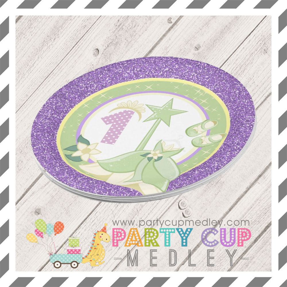 Princess Tiana Party Supplies Party Cup Medley