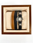 Hermès Black Medor Watch with extra Band